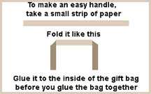 diagram2 how to assemble gift bags